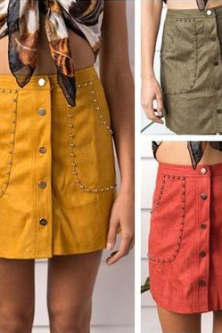 Women Fashion Sexy High Waist Pack Hip Skirt